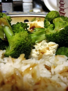 bean curd broccoli