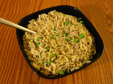 Spicy Basil Orzo