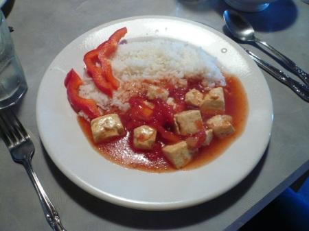 Malaysian Sweet & Sour Tofu