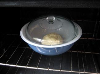 Raising the dough