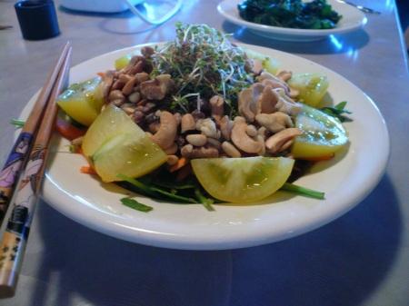 Super Salad Side View