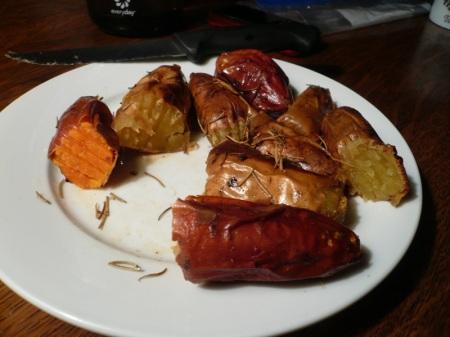 Potatoes Cut