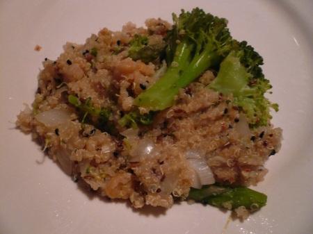 Quinoa Veggie Explosion