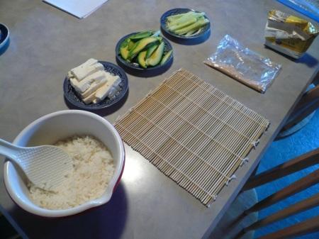 Sushi Set Up