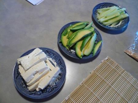 Sushi Veggies