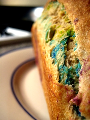 rainbow bread in profile