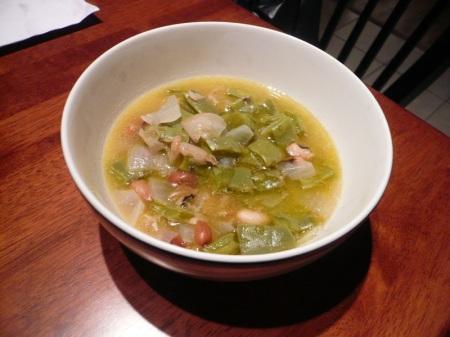 Nopales Soup