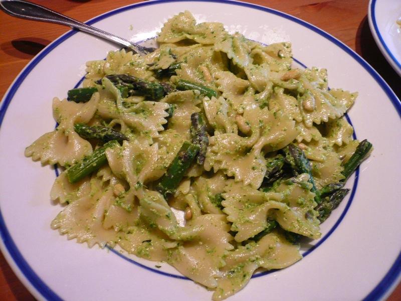 Asparagus Pesto Pasta 3