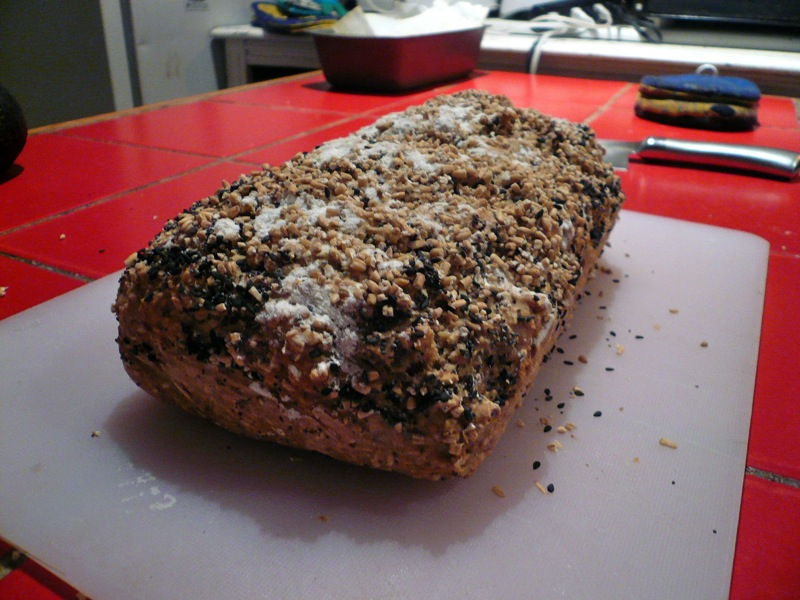 Vegan Steel-Cut Oat Soda Bread | Until We Eat Again