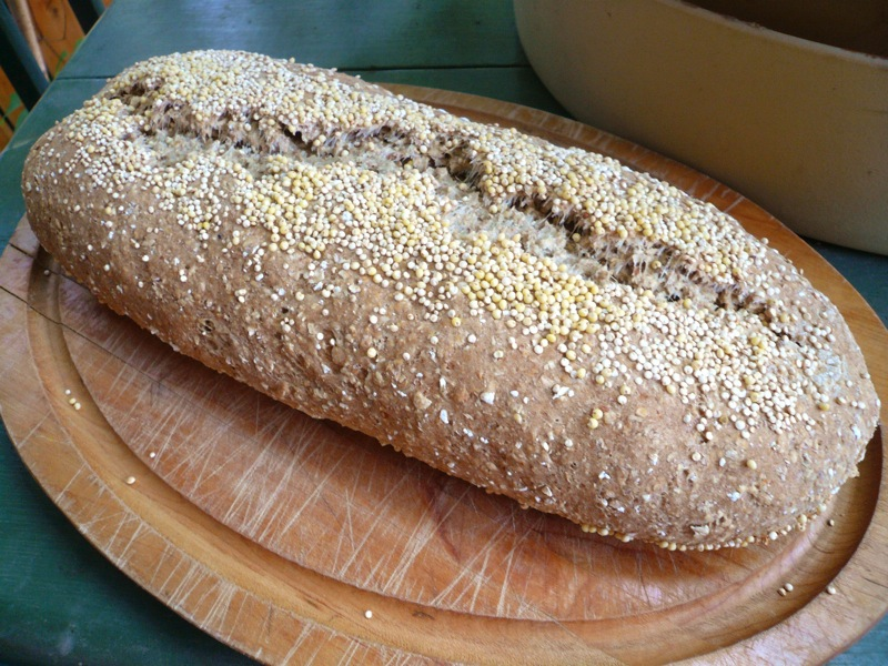Quinoa Millet Oat Soda Bread | Until We Eat Again